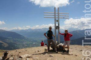 Die Autoren Bärbel und Reinhard Jakubowski am Gipfel des Watles (2.555 m)