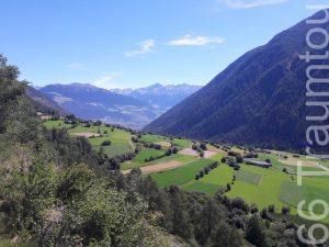 Münstertal, Blick in den Vinschgau